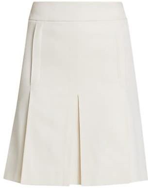 Akris Punto Inverted Pleat Skirt