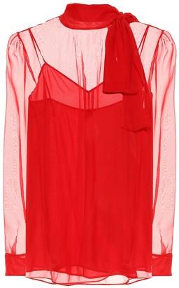 Valentino chiffon blouse