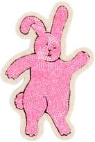 Olympia Le-Tan Rabbit Beaded Pin