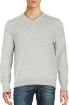 Nautica Marled V-Neck Sweater