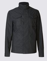Limited Edition Pure Cotton Hooded Jacket With Stormweartm