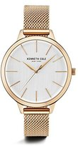 Kenneth Cole New York Women's 'Classic' Quartz Stainless Steel Dress Watch, Color:Rose Gold-Toned (Model: KC15056014)