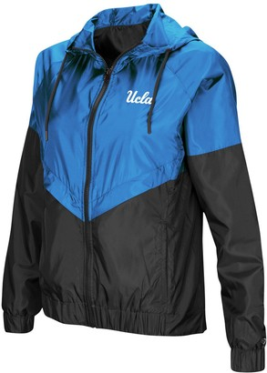 Colosseum Women's Blue UCLA Bruins First Class Full-Zip Windbreaker Jacket