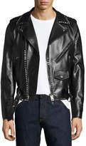 Valentino Rockstud Leather Moto Jacket