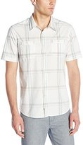 Quiksilver Waterman Men's Observation Deck Button-Front Shirt
