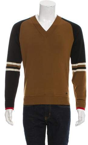 Chanel Wool Striped Sweater