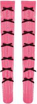 Gucci Knee socks with velvet bows