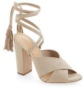 Schutz Women's Damila Wraparound Tassel Sandal