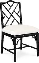 Jonathan Adler Black Chippendale Dining Chair
