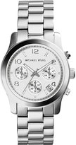 MICHAEL Michael Kors 39mm Jet Set Chronograph Bracelet Watch, Silver