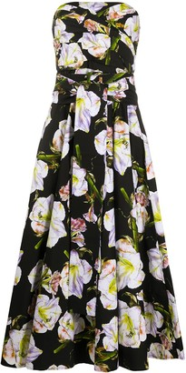 Samantha Sung Carol floral print dress