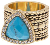 Ariella Collection Triangle Stone Ring - Size 7