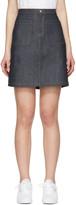 A.P.C. Indigo Denim 70's Miniskirt