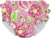 I Play Snap Reusable Swim Diaper - Pink Paisley Elephant - 3T