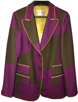 Stine Goya Purple Polyester Jackets