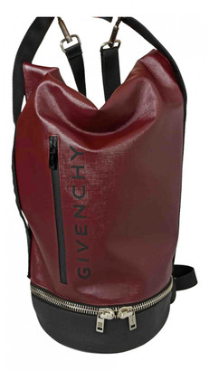 Givenchy Jaw Burgundy Leather Bags