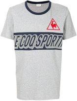 Le Coq Sportif printed logo T-shirt