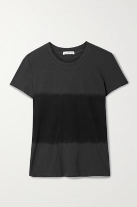 James Perse Vintage Boy Tie-dyed Cotton-jersey T-shirt - Black