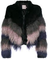 Urban Code Urbancode shaggy chevron jacket