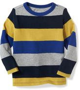 Old Navy Textured Striped Tee for Toddler