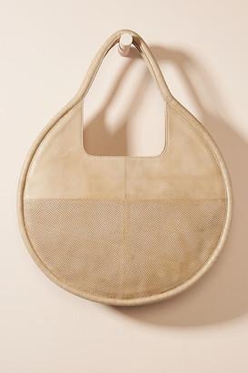 Anthropologie Julien Leather Tote Bag By in Beige