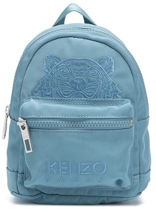 Kenzo Tiger-embroidered backpack