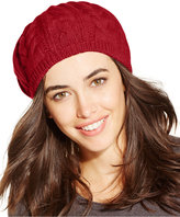 Charter Club Cashmere Cable Beret, Only at Macy's
