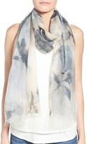 Badgley Mischka Women's Floral Print Modal & Silk Scarf