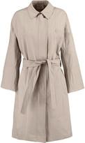 Vince Belted cotton-blend gabardine trench coat