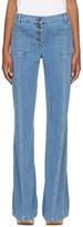Chloé Blue Flared Jeans