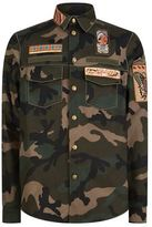 Valentino Cigar Box Embellished Camo Jacket