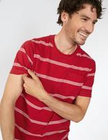 Fat Face Four Stripe T-Shirt