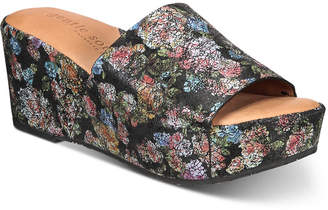 Gentle Souls by Kenneth Cole Women Forella Platform Wedge Sandals Women Shoes