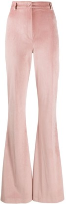Hebe Studio High-Waist Flared Trousers