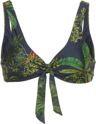 Agua Bendita Agua By Grace Printed Bikini Top