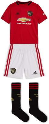 adidas Manchester United Footbal Club T-Shirt, Shorts and Socks Set