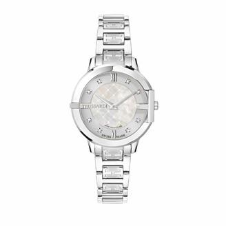 Trussardi Womens Analogue Quartz Watch with Stainless Steel Strap R2453114508