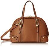 MG Collection Irina Mini Studded Satchel Shoulder Bag