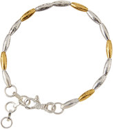 Gurhan Wheat Two-Tone Beaded Bracelet