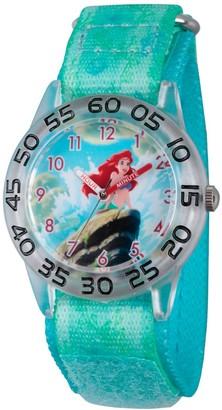 Disney Girl' Diney Prince Ariel Clear Platic Time Teacher Watch -