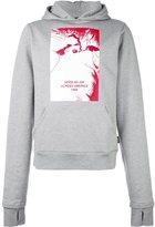 Hood by Air extended sleeve hoodie