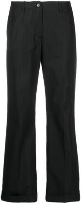Aspesi Low-Waist Straight Trousers