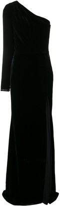 Philipp Plein asymmetric one shoulder dress