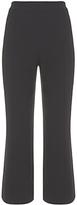 Mint Velvet Luxury Soft Bootcut Trousers, Black