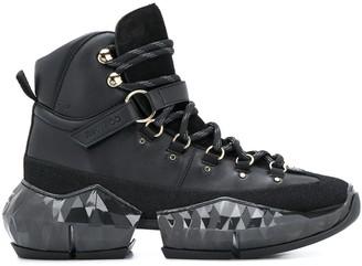 Jimmy Choo Diamond hiking boots