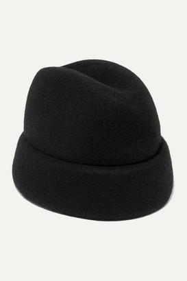 Gigi Burris Millinery Net Sustain Sharina Wool-felt Hat - Black