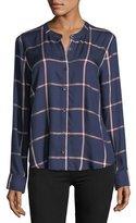 Splendid Reily Plaid Button-Up Shirt