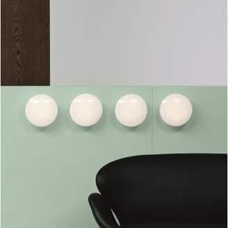 """Louis Poulsen AJ Eklipta 1-Light LED Semi Flush Mount Size: 8.7"""" H x 8.7"""" W x 4.0"""" D"""