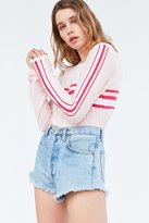 BDG Placement Stripe Long-Sleeve Tee
