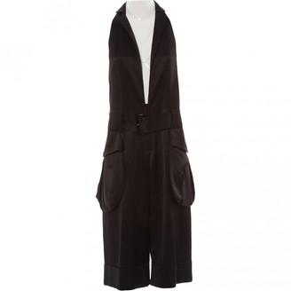 Limi Feu Black Wool Jumpsuits